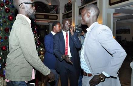 SOUTH SUDAN'S WARRING FACTIONS MEET IN ETHIOPIA