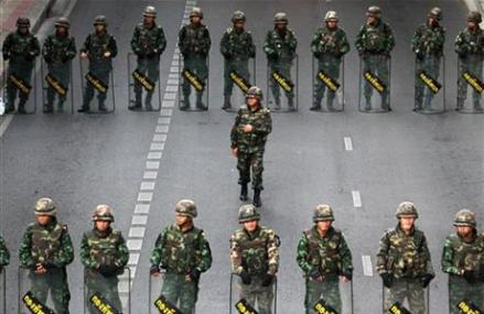 Thailand's junta bans all anti-coup protests