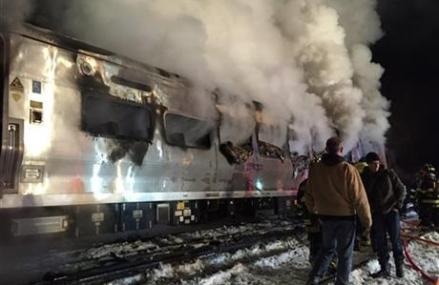 Probe into fatal crash centers on how SUV ended up on tracks