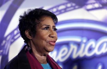 Aretha Franklin welcomes 'Idol' to her hometown of Detroit