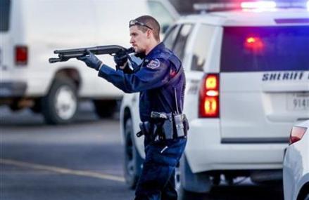 Sheriff: Cop who killed Kansas gunman a 'tremendous hero'