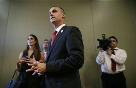 Charge against Trump campaign manager eclipses Wis. Race