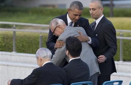 Obama uses Hiroshima visit as opportunity to urge no nukes