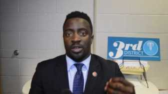 CMG street team interviews state representative Brandon Ellington
