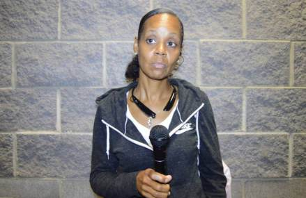 The 3rd district community meeting Ms.Shelton