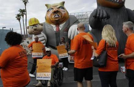 Union launches boycott of Trump companies amid Vegas dispute