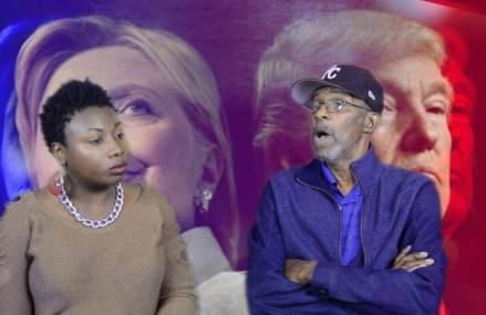 CMG Street Teams Interviews Walter Smith Presidential Debate