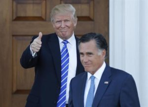 Trump, Pence address potential of Romney, Mattis in Cabinet