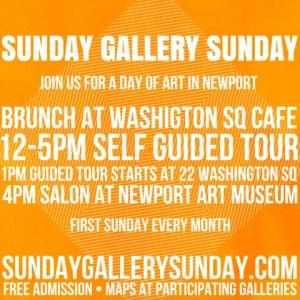 Sunday Gallery Sunday APRIL