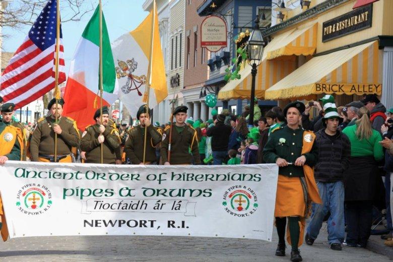 Newport St Patricks Day Parade
