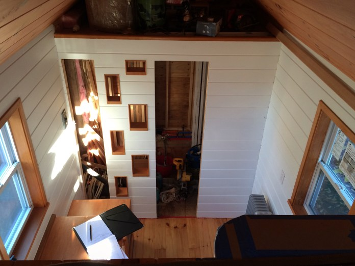 View from the loft.