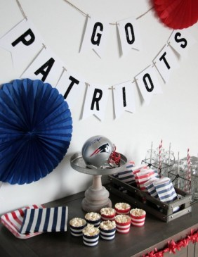 Patriot's Super Bowl Party