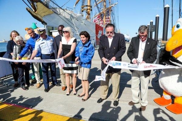Governor Raimondo, local dignitaries officially open Volvo ...