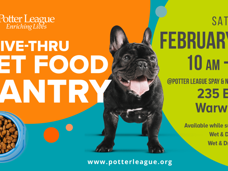 Flyer provided by Potter League For Animals