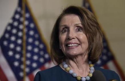 House Democrats re-elect Pelosi as leader despite discontent