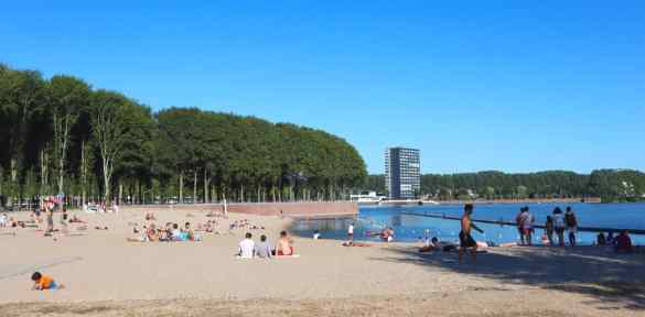 Amsterdam city beaches