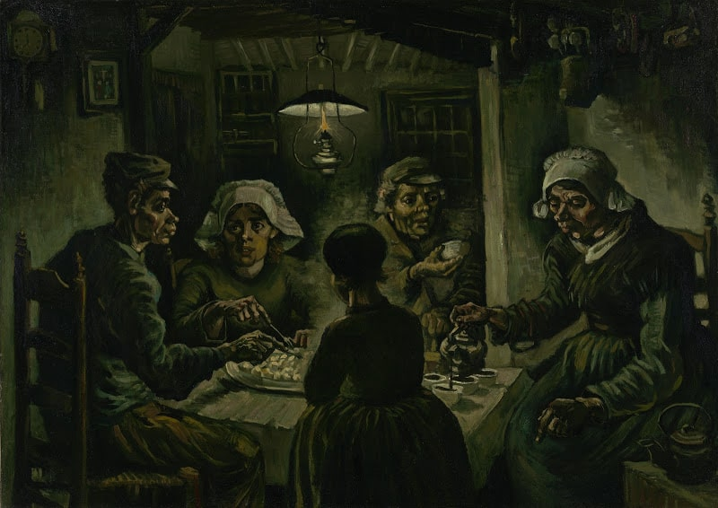 Amsterdam Van Gogh The Potato Eaters