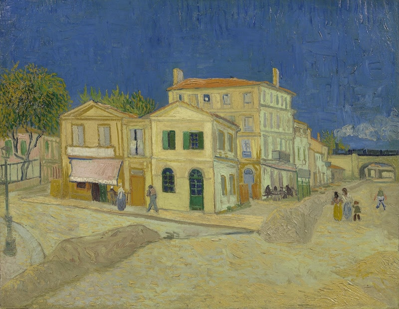 The Yellow House (The Street) Vincent van Go
