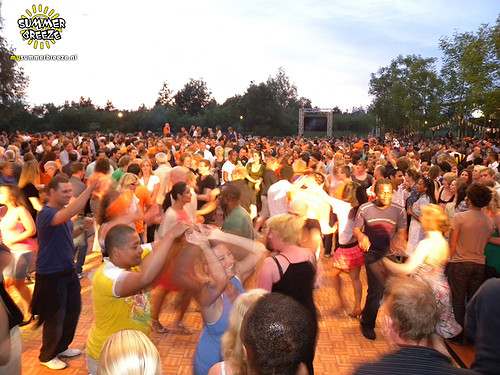 Summer Breeze salsa party