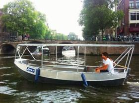 private boat rent Amsterdam