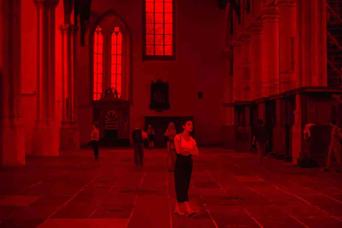 Oude Kerk red light
