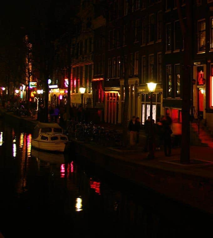 Canal cruise Red Light Amsterdam