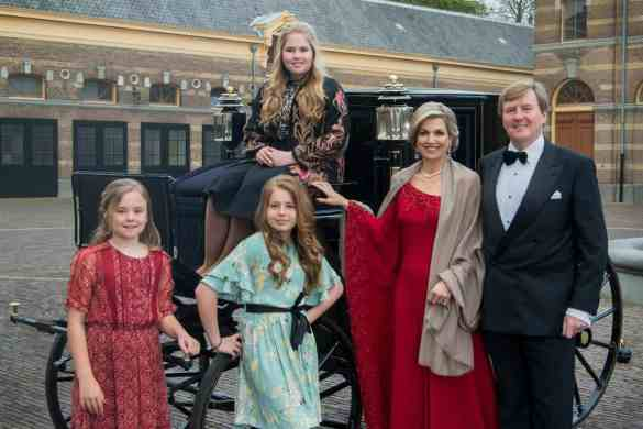 The Dutch Royal Family in 2017