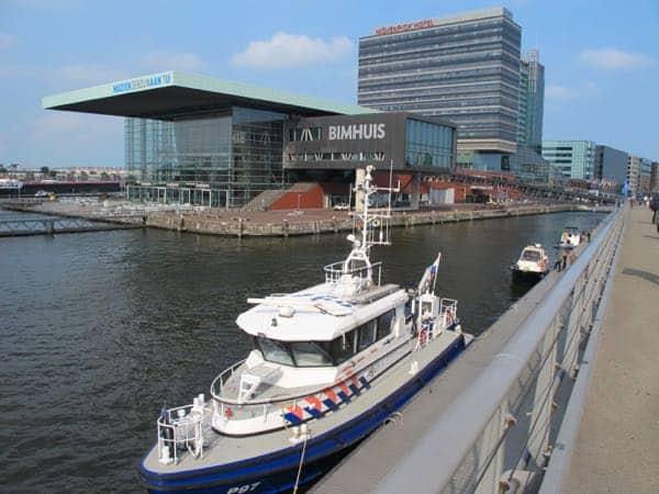 Bimhuis and Muziektheater in Amsterdam
