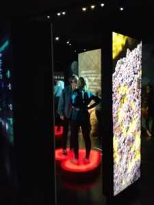 Kiss-o-Meter, Micropia museum Amsterdam