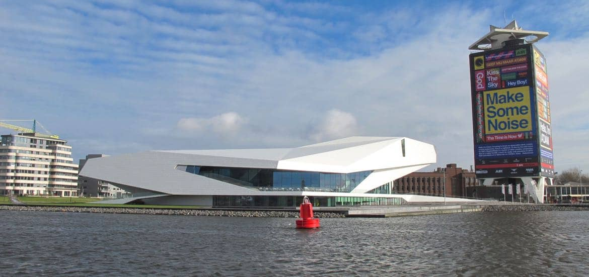 EYE Film Museum and A'DAM