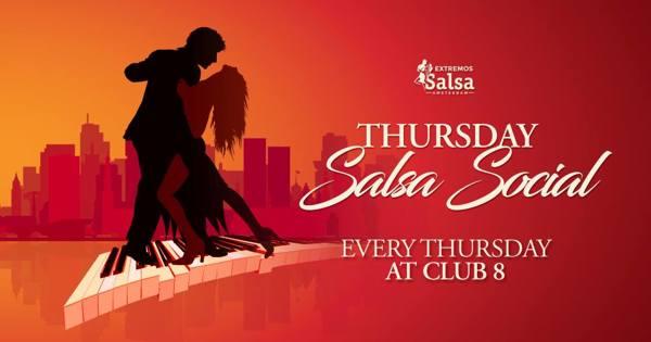 Salsa dance parties Amsterdam