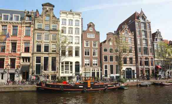 amsterdam houses narrow