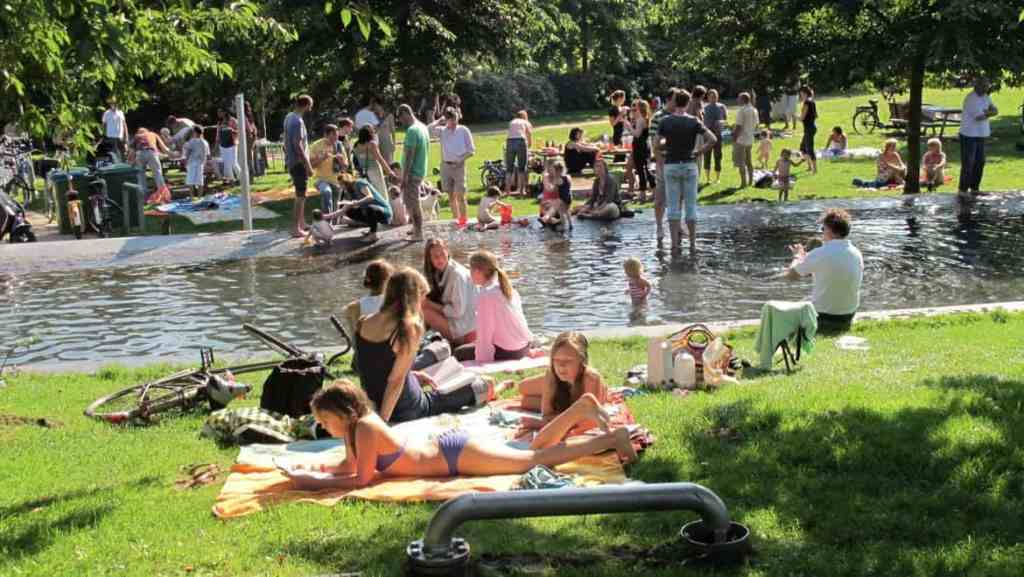 Westerpark outdoor pool Amsterdam