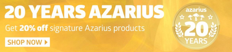 Azarius smart shop 20 years discount