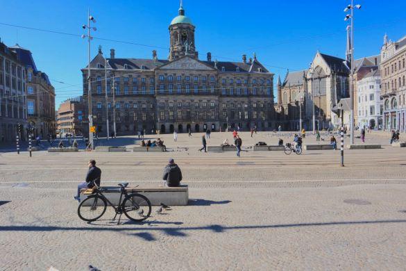 Corona in Amsterdam
