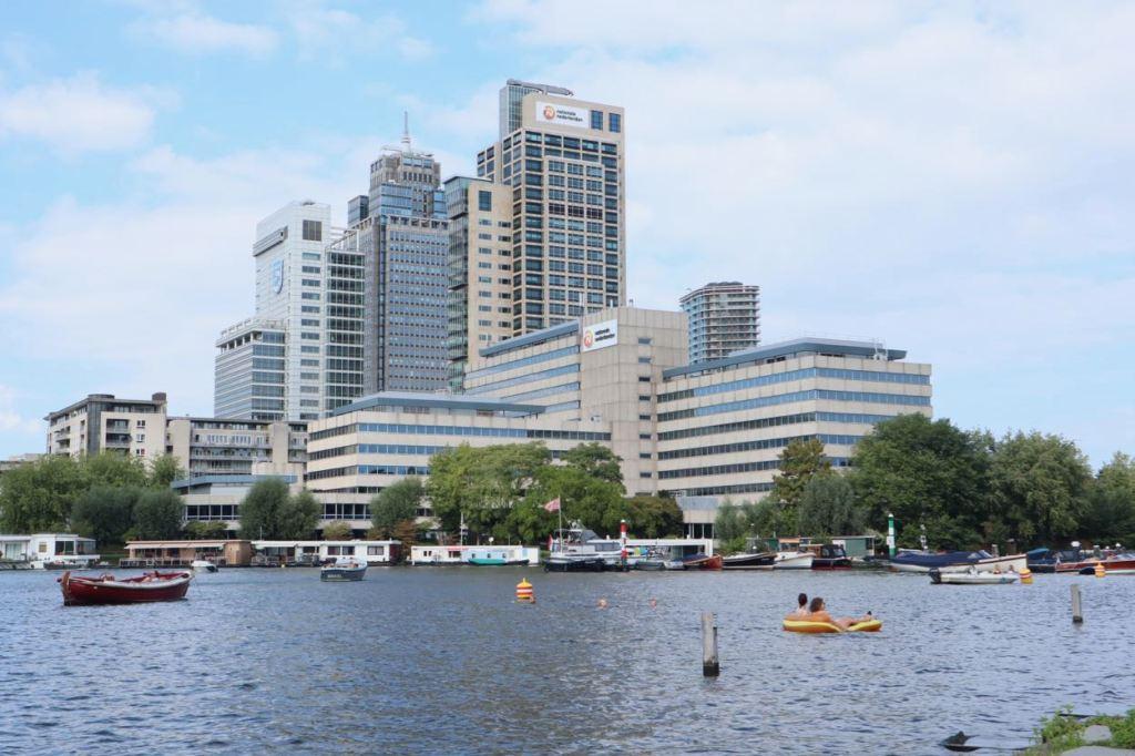 Amstel river swimming