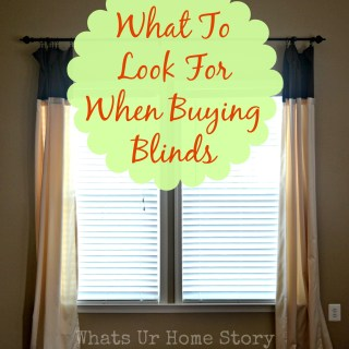 What to Look for When Buying Window Blinds