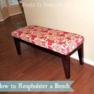 DIY Bench Makeover