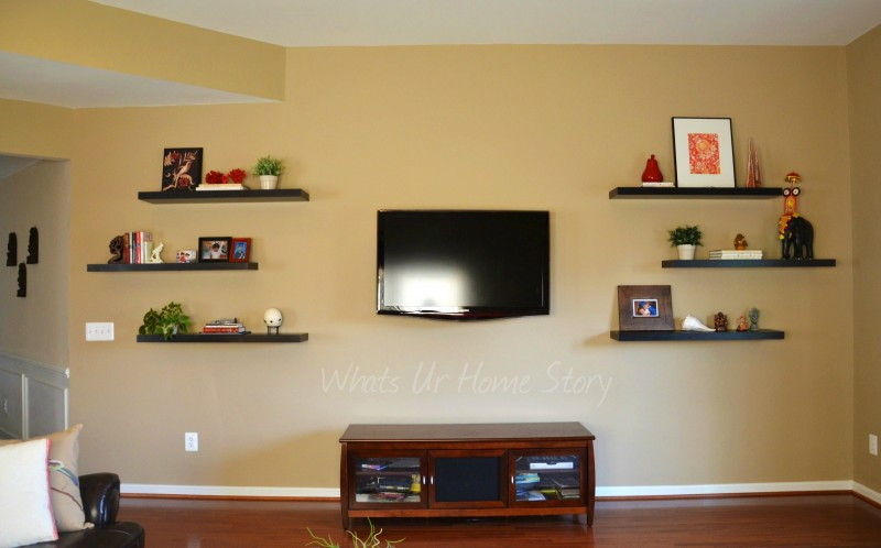 Whats Ur Home story: Floating Shelves
