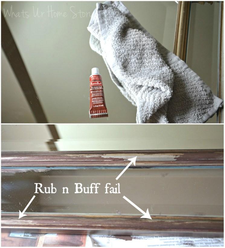 Rub n buff fail, Pinterest fail