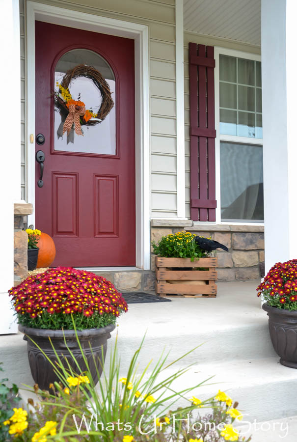 Fall porch 2014