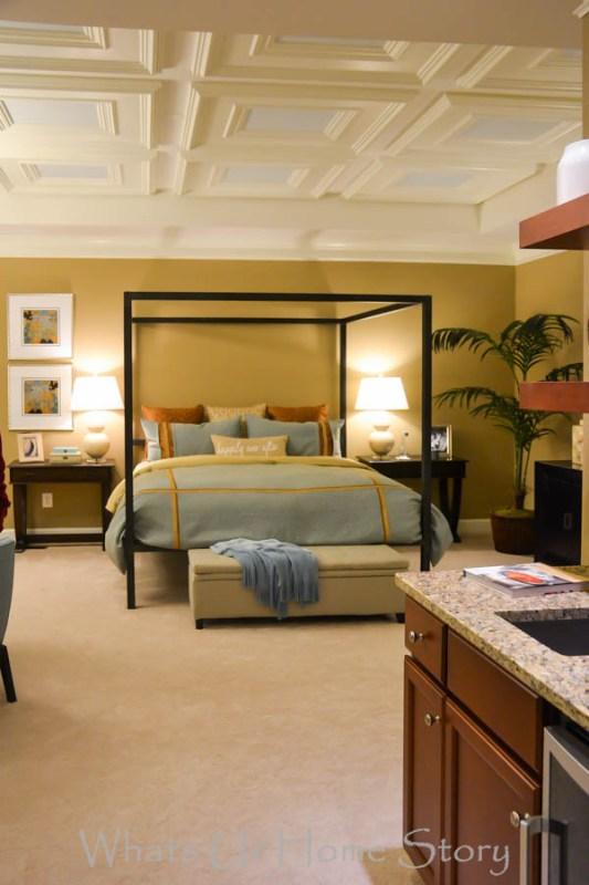 Transitional Neutral bedroom