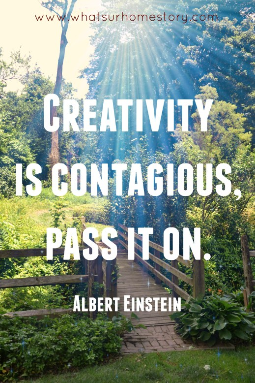 Great tips on how to find time to be creative; Creativity quote