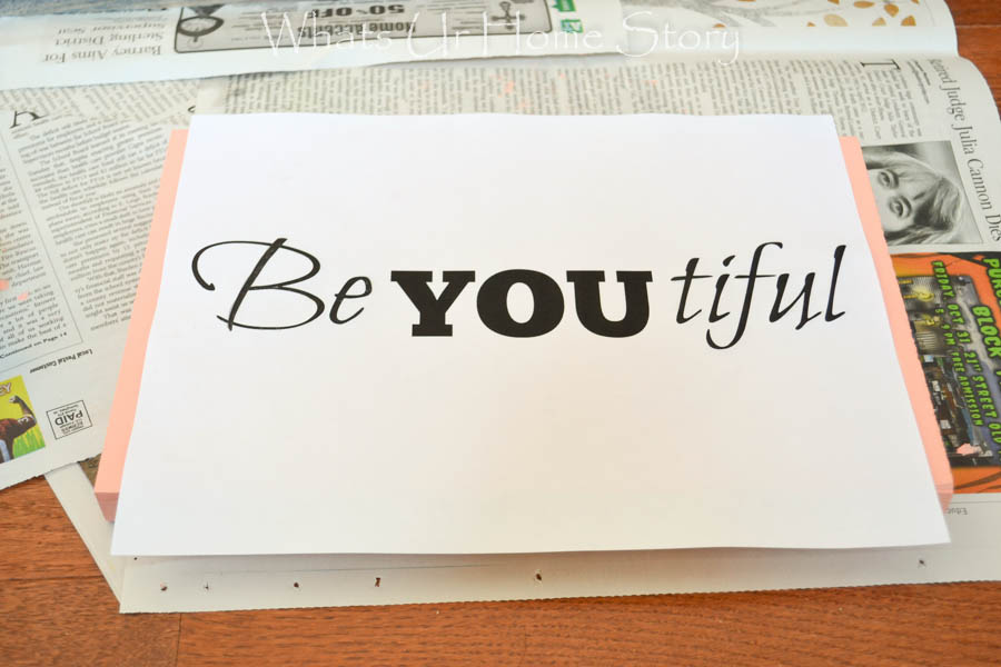 how to stencil beyoutiful
