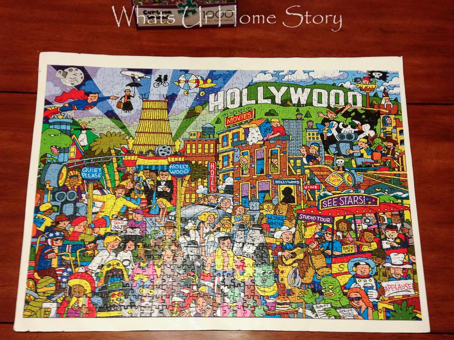 Hollywood Jigsaw Puzzle