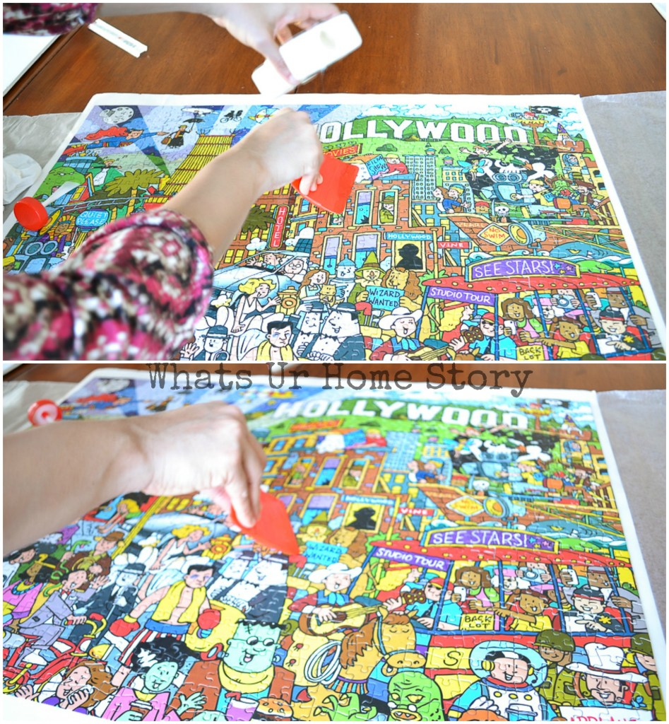 how to save a jigsaw puzzle