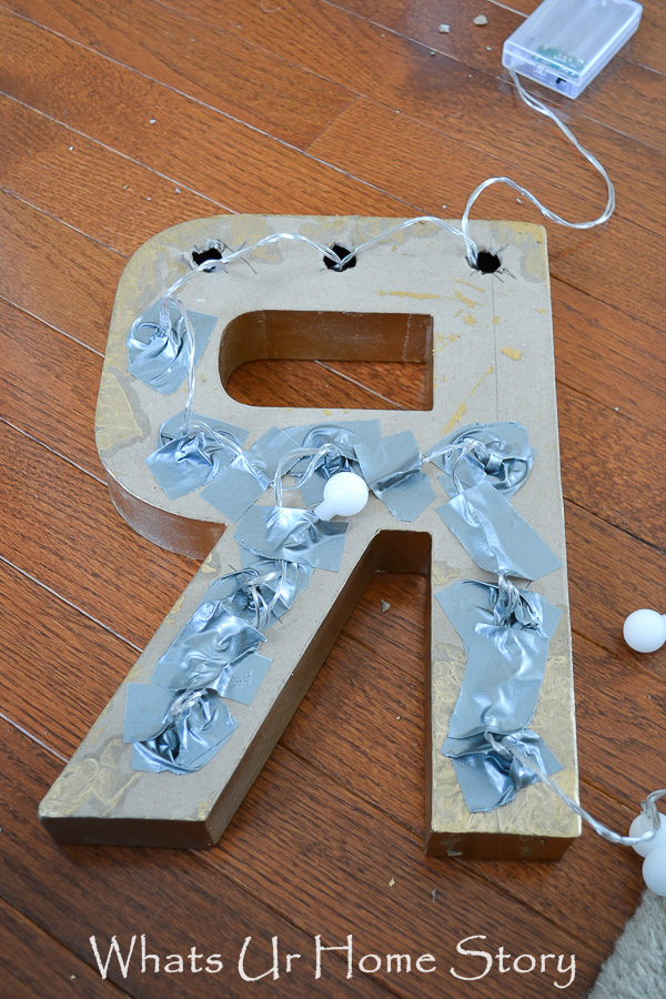 STAR DIY Marquee Letter Sign