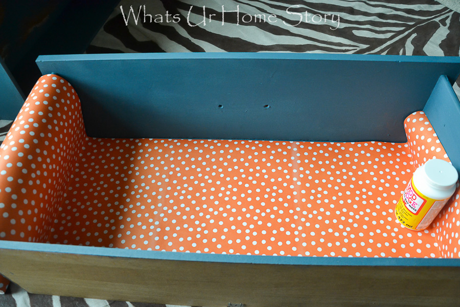 Add Liners to Dresser Drawers
