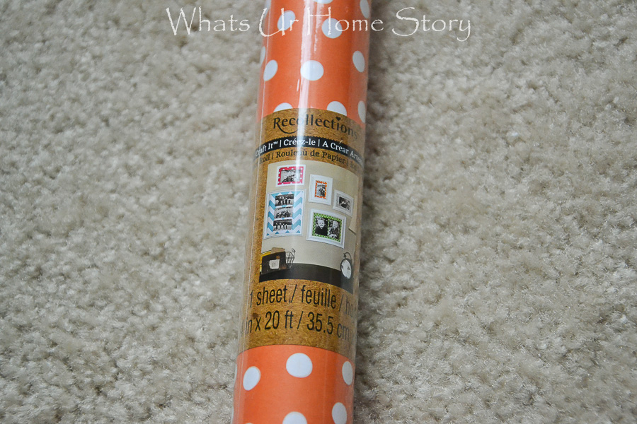 craft paper is perfect for lining dresser drawers