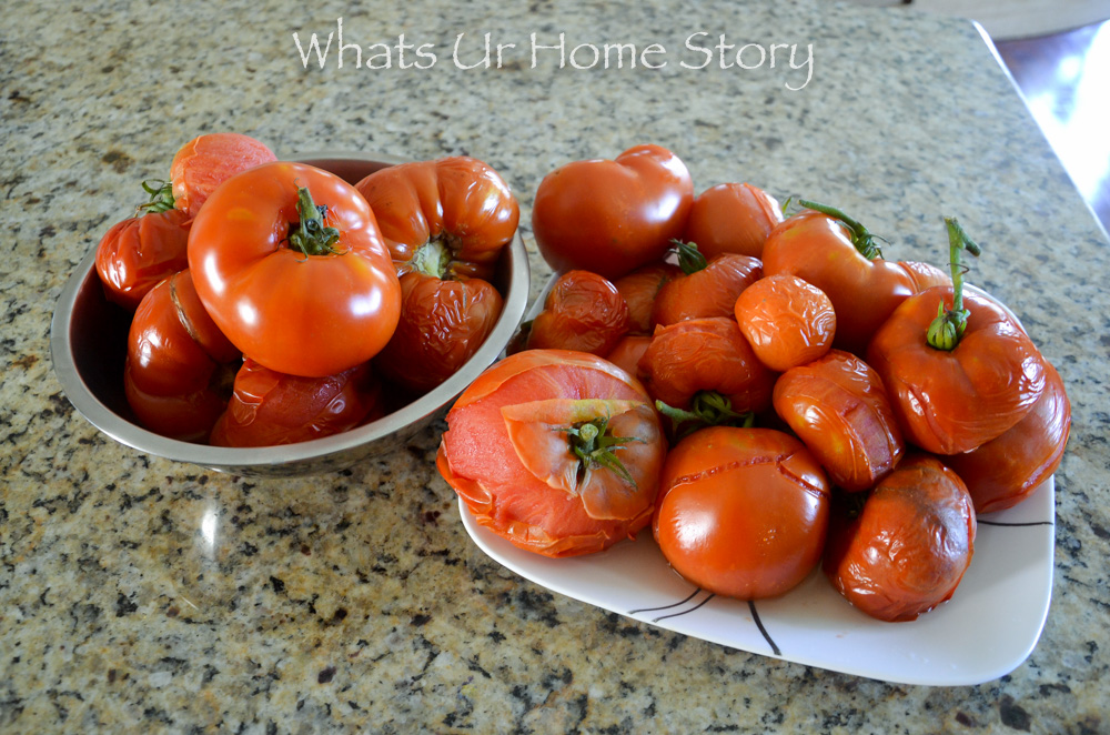 Easiest way to preserve tomatoes